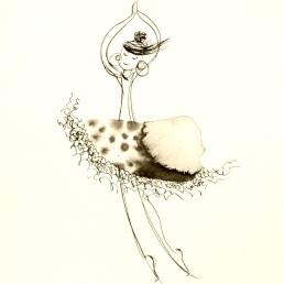 11 Illustration danseuse