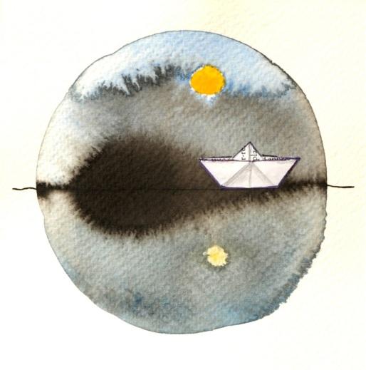 13 Aquarelle horizon