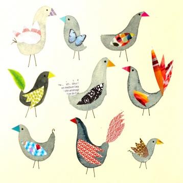 6 Version DADA oiseaux